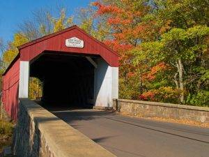 covered bridge bucks county